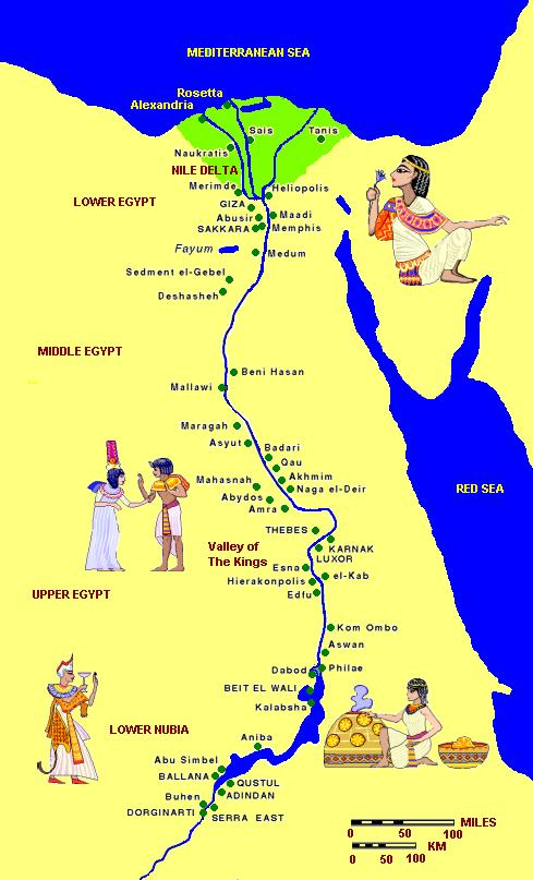 The extent of the empire ancient egypt map showing the extent of the empire ancient egypt gumiabroncs Images